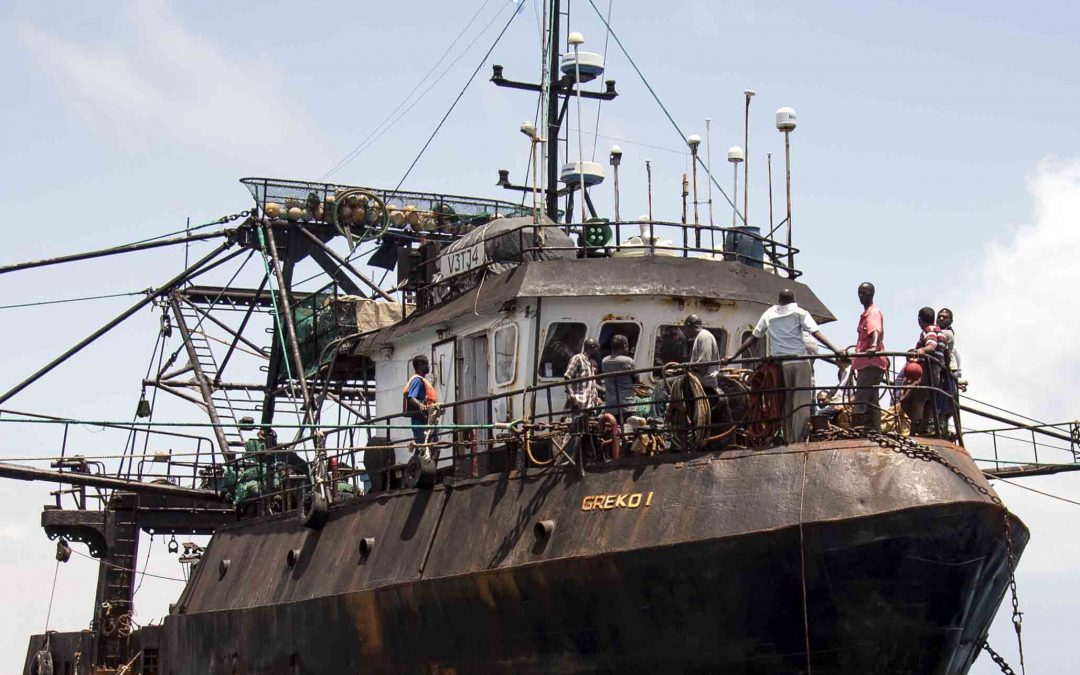 FISH-i Africa assists Somali authorities inspect suspected illegal fishing vessel, Greko 1