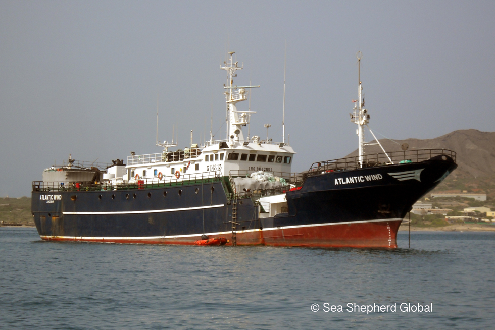 Tanzania acts to stop infamous poaching vessel ATLANTIC WIND returning to fishing operations