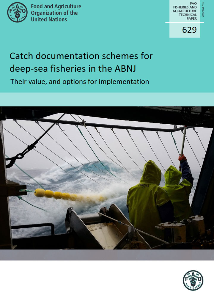 Catch documentation schemes for deep-sea fisheries in the ABNJ: a 'Super-CDS' solution is proposed